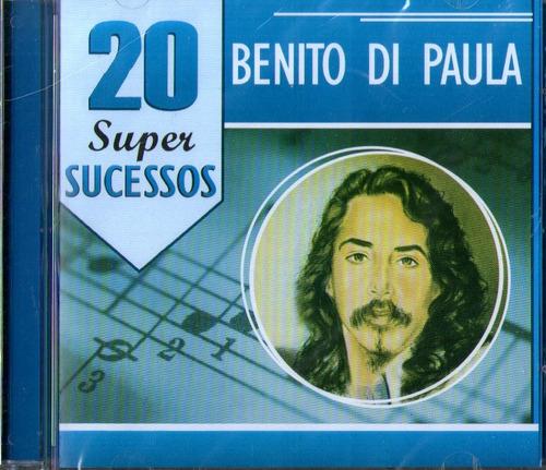 Cd Benito Di Paula 20 Super Sucessos Original