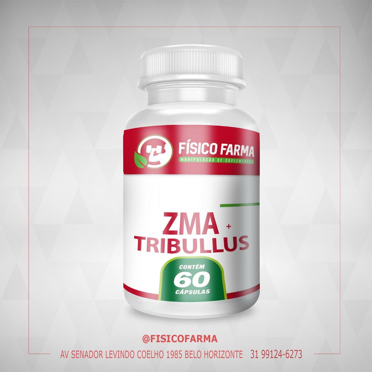 ZMA + Tribulus Terrestris CONCENTRADO 60 CÁPSULAS