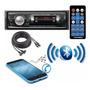 Aparelho Rádio Mp3 Player Automotivo Bluetooth Usb Brinde