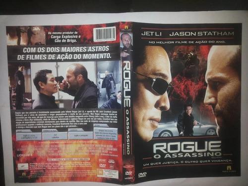 Dvd Rogue O Assassino Jet Li Jason Statham Justiça Vingança Original