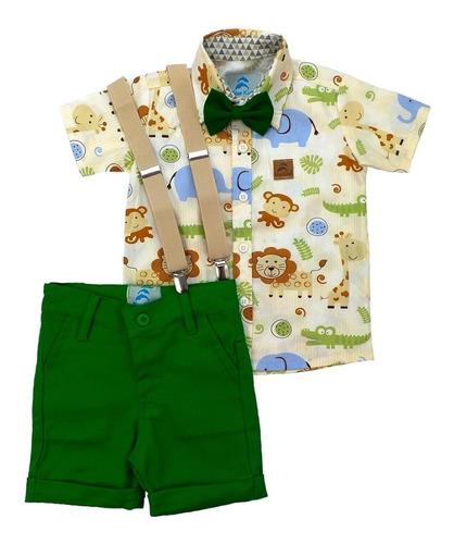 Conjunto Roupa Safari Infantil