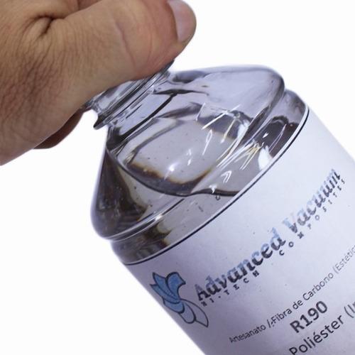 Resina  Cristal  + Catalisador - 0,5 Kg