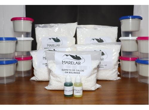Pote Antimofo 10 + 5kg Cloreto De Cálcio + Essência Original