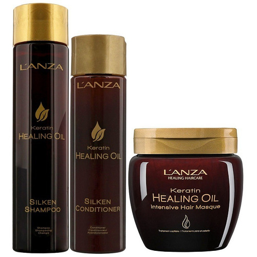 Lanza Keratin Healing Oil Kit 2