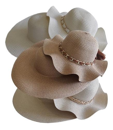 6 Chapéu De Praia Tal Mãe Tal Filha Para Customizar 3 Pares Original