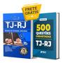 Kit Apostila Técnico Judiciária Tj Rj 500 Questões Solução