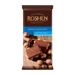 Chocolate Whole Hazelnuts Roshen 90 g...