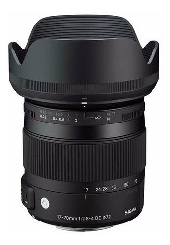 Objetiva Sigma 17-70mm P/ Canon Contemporary  Dc O Hsm Original