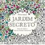 Livro De Colorir Jardim Secreto Johanna Basford