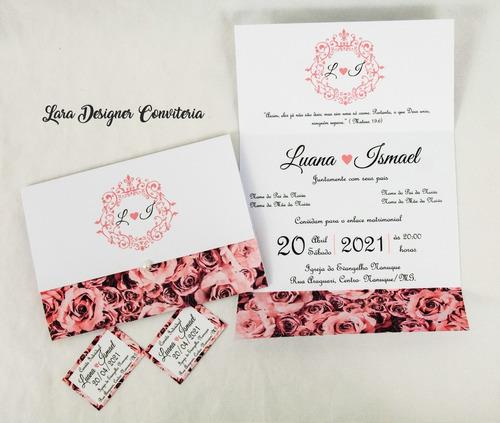 Convites De Casamento Bodas Aniversario 100 Unidades Brindes Original