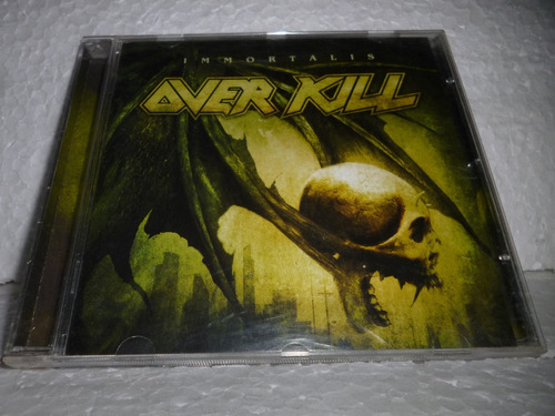 Cd Over Kill - Immortalis 2007 Br Original