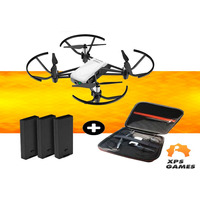Drone Ryze/Dji Tello + 2 Bateria Extra + Case Neo Premium - Branco