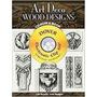 Livro Art Deco Wood Designs Cd Laurent Malcles