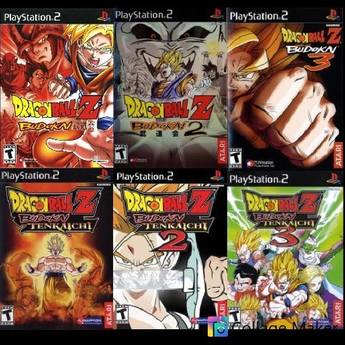 Patche Dragon Ball Coletanea 6 Jogos Ps2 Leia Original