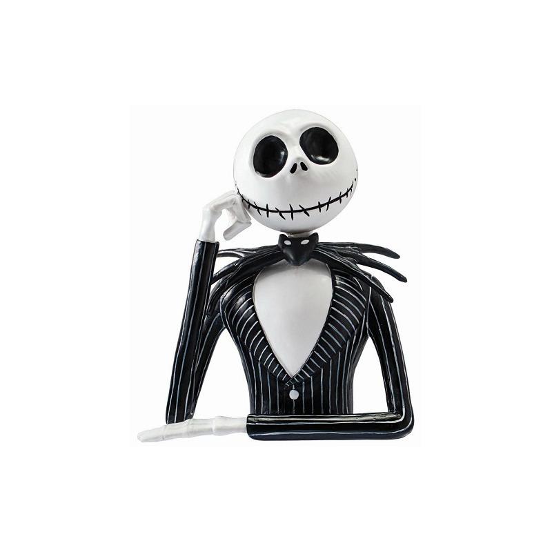 Busto Cofre Jack Skellington Monogram - Bust Bank - Disney