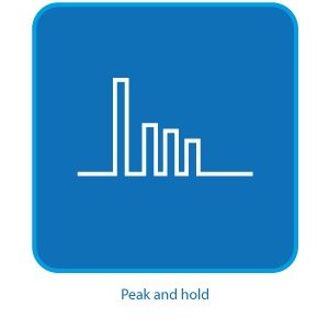 Habilitação da função Peak an...
