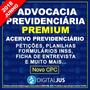 Kit De Petições Previdenciárias Atualizadas Novo Cpc Jud Adm