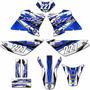 Kit Adesivos Trilha Gráficos Xtz 125 Motocross 0.28mm Md 23