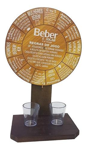 Jogo Roda Shot Roleta Tequila Beber Roleta Drink Shot Original
