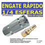 Engate Rapido 1/4 + Pino De Engate -imeco-pacar-  Conjunto