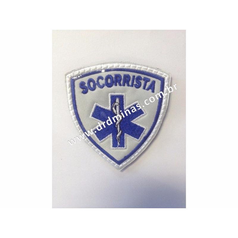 Patch / Distintivo Bordado Socorrista - II