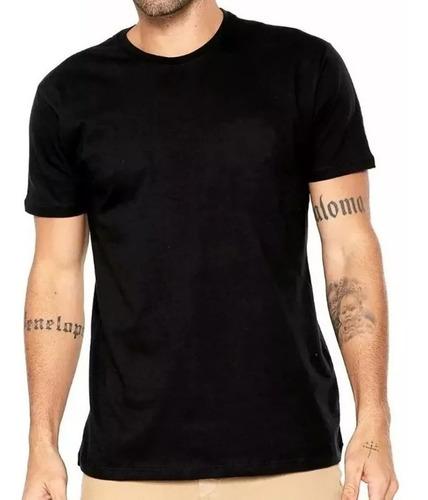 Camiseta Masculina Algodão Básica Camisa Atacado 30.1  Lisa Original