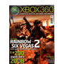 Revista Xbox 360 Rainbow Six Vegas 2 200 Jogos Lacrado!!