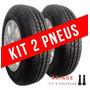 Kit 2 Pneu Aro 14 175/70 R14 Remold Gw Tyre Validade 5 Anos