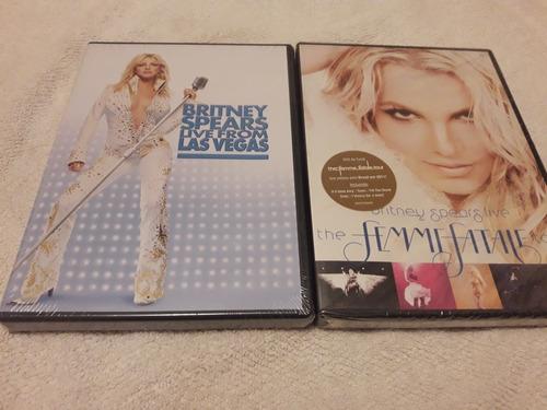 2 Dvd Britney Spears .live From Las Vegas. Live The Femme F Original