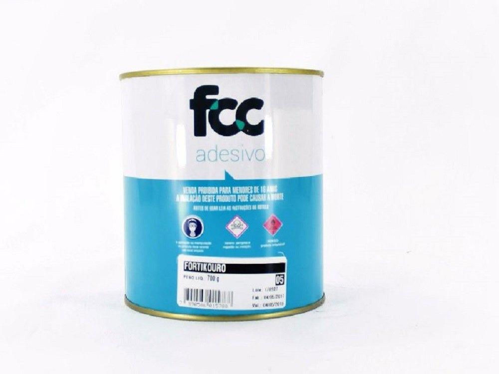 4788ad94429 Cola Adesivo Fortikouro Gold 700g R  19.33 - CVI Tecidos e Decoração