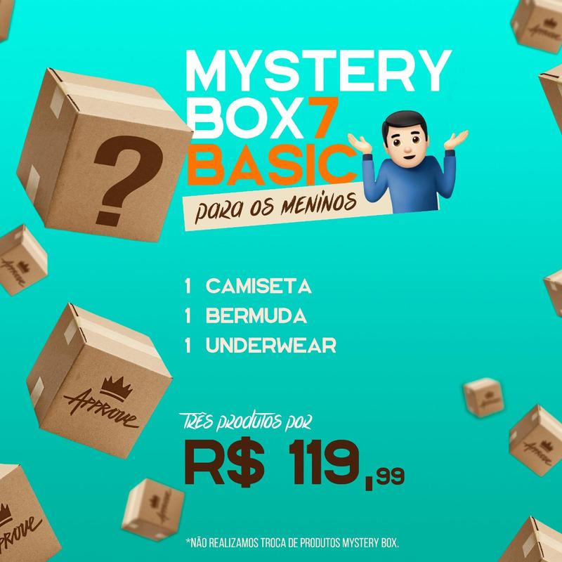 APPROVE MYSTERY BOX BASIC MAN