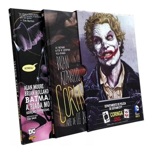 Box Coringa De Brian Azzarello + A Piada Mortal Capa Dura Original