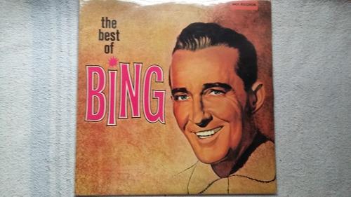 Lp Bing Crosby - The Best Of Bing ( Duplo ) Original