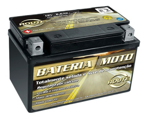 Bateria Moto Route Xtz12b-bs Yamaha Tdm900 = Yt12b-bs Yuasa Original