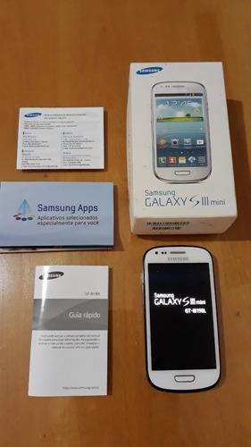 Celular Samsung Galaxy S3 Mini Gt-i8190 8gb Rom 3g - Defeito Original