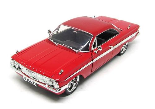 Chevrolet Impala Dom´s 1961 Velozes Furiosos 1:24 Jada Toys Original