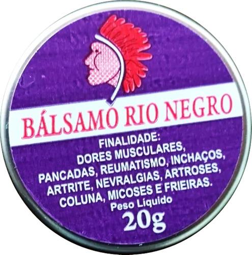 Pomada Balsamo Rio Negro 20 G Kit Com 12 Atacado Promoção*** Original