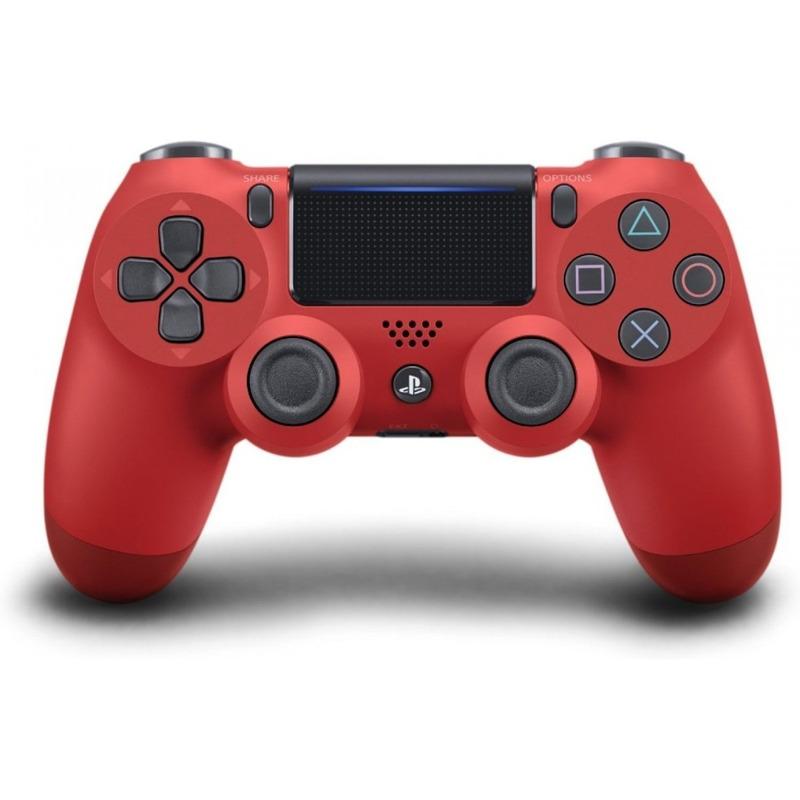 Controle Dual Shock 4 Vermelho - PS4
