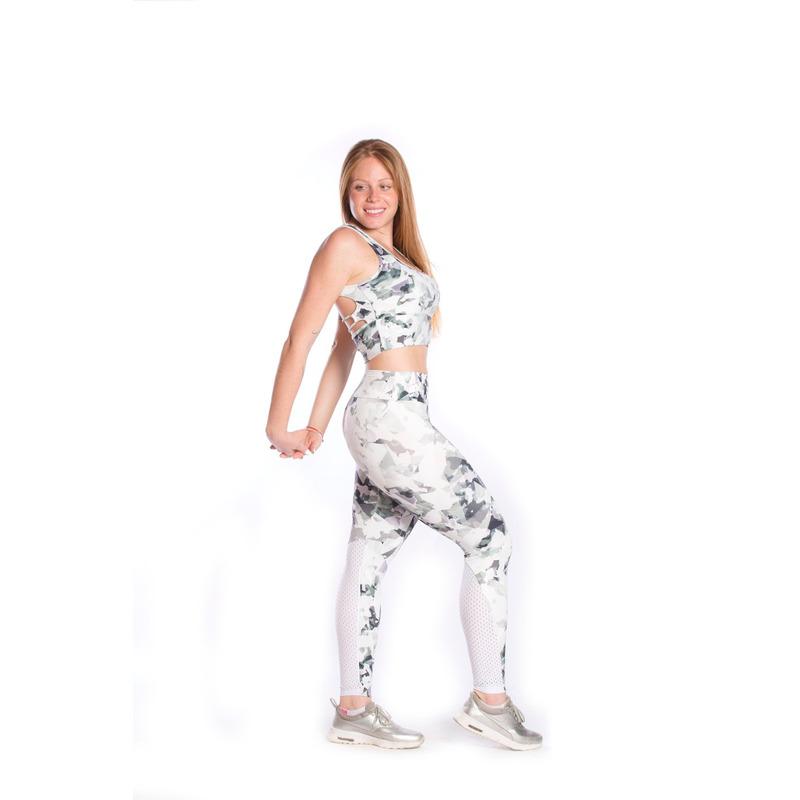 Legging Retro Friso Light Plus Camuflado