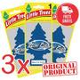 3 Aromatizante Carro Little Trees Air New Car