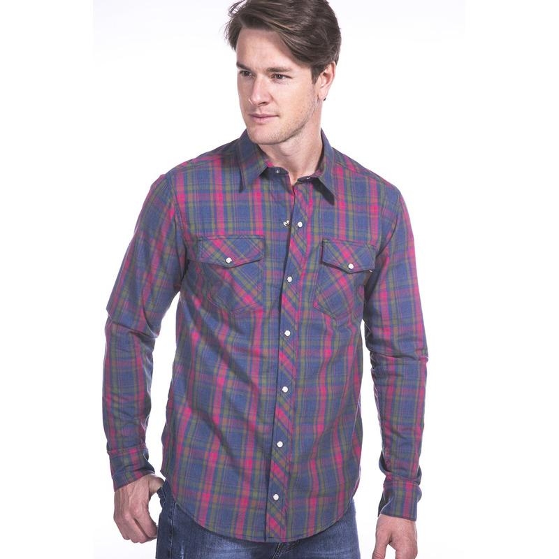 Camisa Xadrez Long Island RF