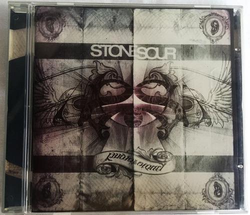 Cd Stone Sour Audio Secrecy  Original