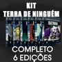 Coleção Batman Terra De Ninguem Completo 1 Ao 6 Eaglemoss