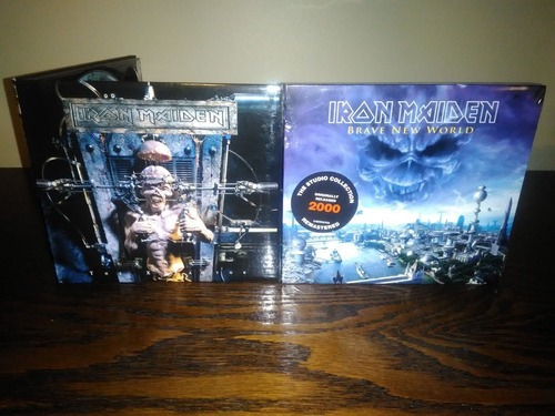 Iron Maiden Lote 2 Cd The X Factor Brave New World Digipack Original