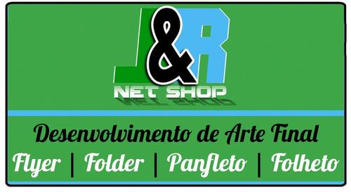 Arte Final Para Flyer, Folder, Panfleto E Folheto