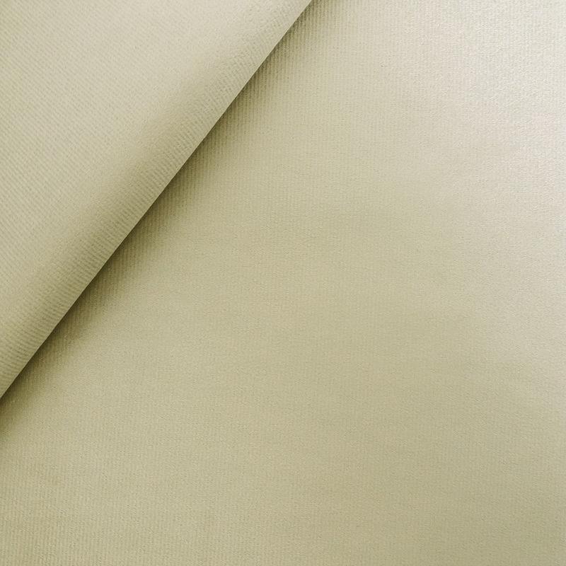Tecido suede veludo bege Larg. 1,40 m