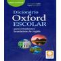 Dicionario Portugues Ingles Escolar Oxford New Edition