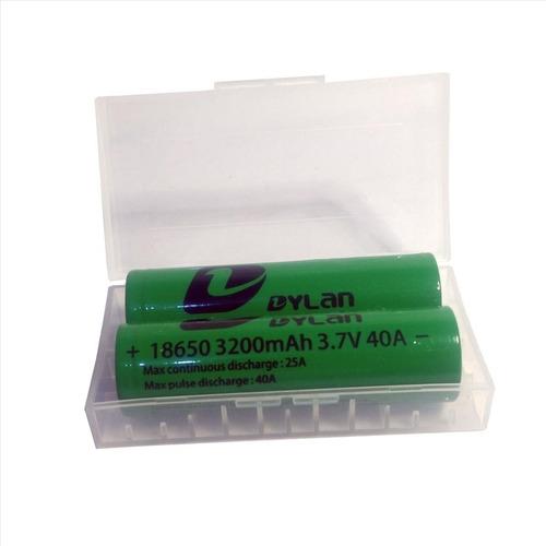 2 Bateria 18650 3200mah 40a Vape Vaporizador Original