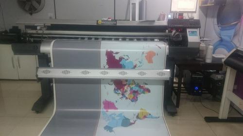 Plotter Impressao Digital Bannerjet Dx5 Ecosolvente 1,6m