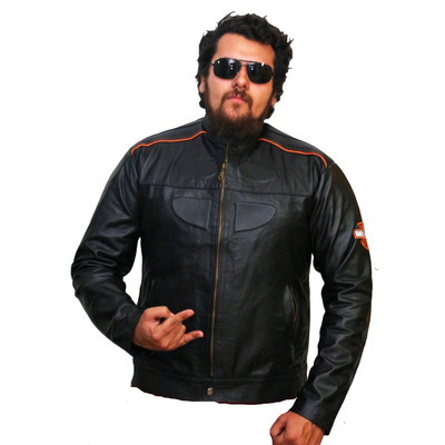 Harley Davidson - Jaqueta Couro 100% Autêntico em Naviraí